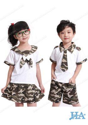 Đồng phục mầm non Happy Kids