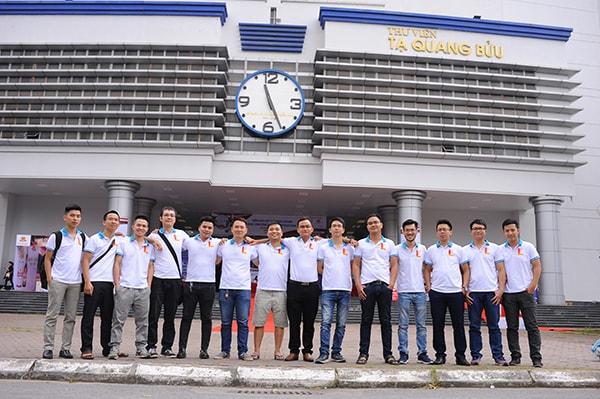 Áo phông đồng phục họp lớp - Đại Học Bác Khoa