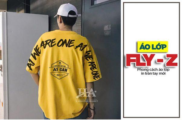 áo phông đồng phục fly-z