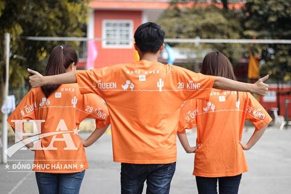 áo lớp fly-z màu cam