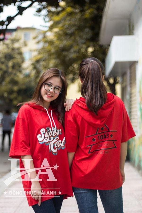 áo lớp fly-z màu đỏ