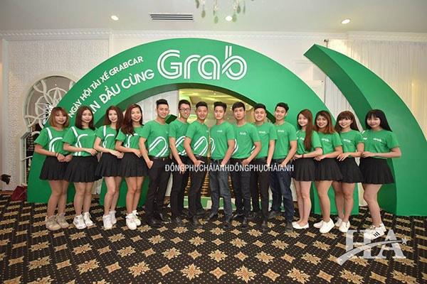 Đồng phục công ty Grab