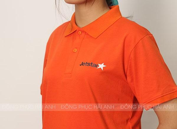 Thêu vi tính logo Jetstar
