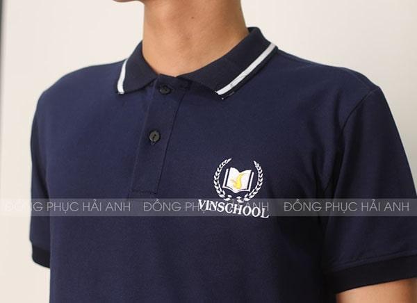 Thêu vi tính logo VinSchool