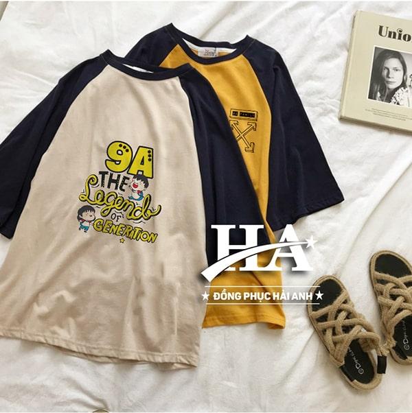 Chọn màu áo phông đồng phục lớp tương đồng mang đến sự nổi bật