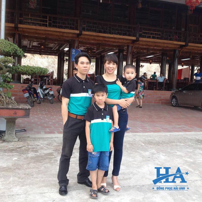 Đặt áo thun đồng phục gia đình tạo sự thoải mái cho người mặc.