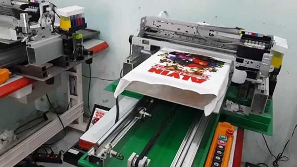 Máy in kĩ thuật số chuyên dụng dùng để in áo thun đồng phục