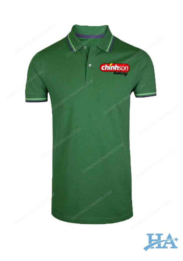 Mẫu áo thun đồng phục công ty đẹp 07