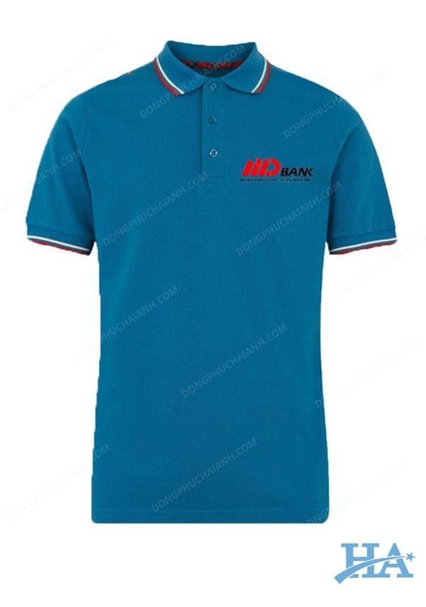 Mẫu áo thun đồng phục công ty đẹp 10