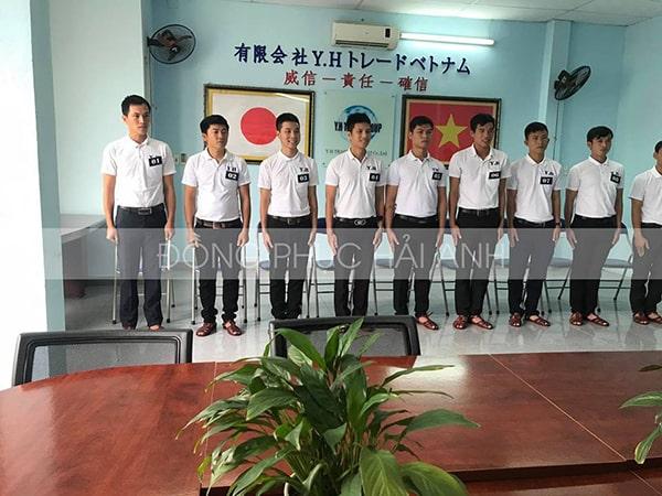 Xây dựng tính kỉ luật, ý thức trách nhiệm khi các nhân viên khoác trên mình những mẫu áo thun đồng phục