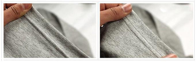 Phân biệt áo thun 100 cotton bằng phương pháp kiểm tra bằng tay