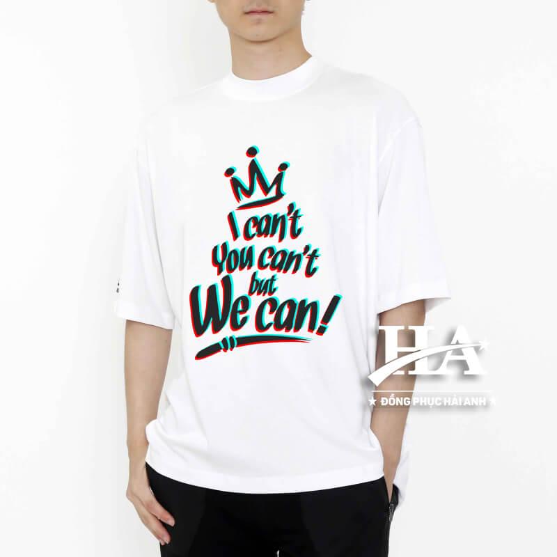 Sản phẩm áo thun màu trắng mang lại nhiều ý nghĩa to lớn hữu ích đến người sử dụng trực tiếp sản phẩm này.