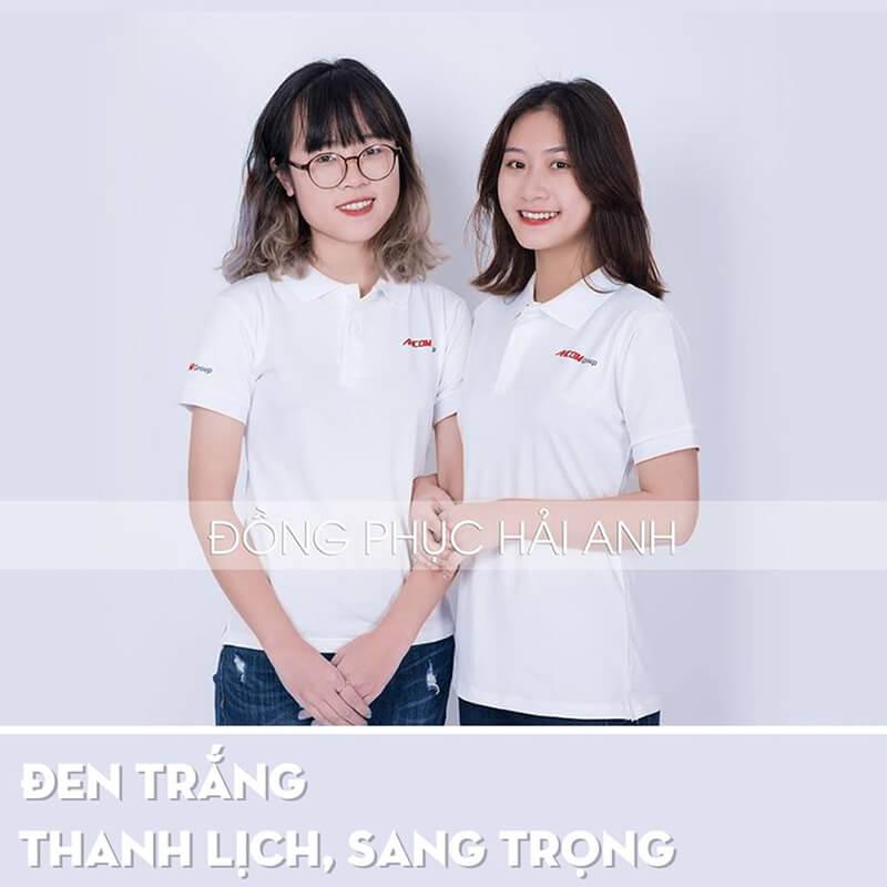 Việc sử dụng áo thun màu trắng giúp các bạn có thể trẻ ra vài tuổi đấy nhé.