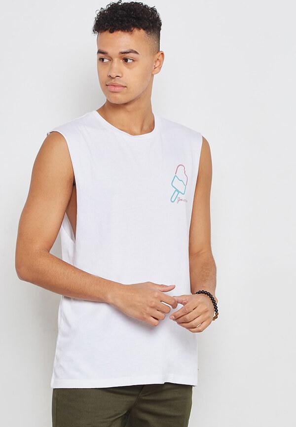 Áo thun tanktop kiểu dáng áo Muscle shirt