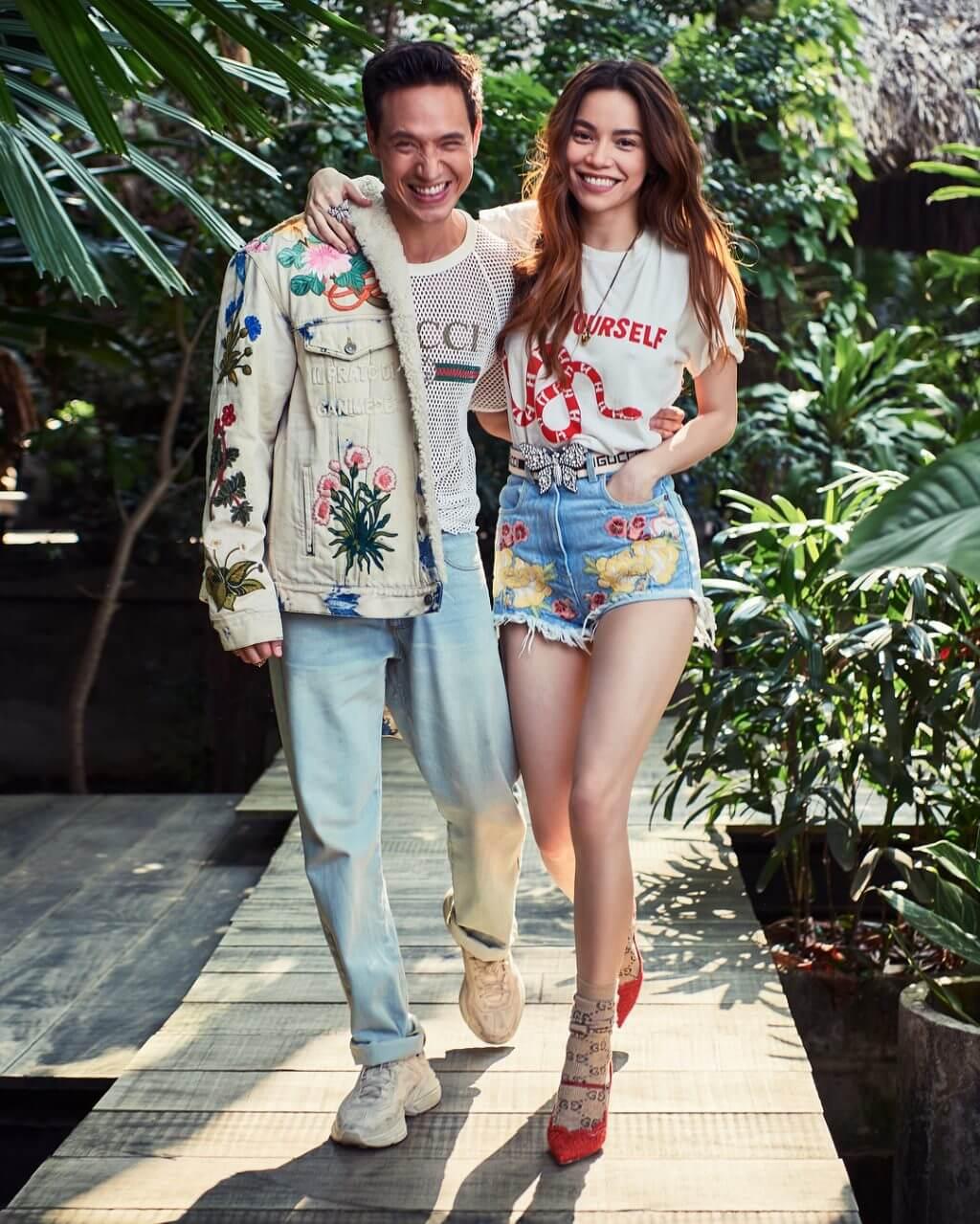 """Hồ Ngọc Hà tiếp tục gây thương nhớ khi diện mẫu áo thun """"Guccify Yourself"""" đến từ thương hiệu Gucci"""