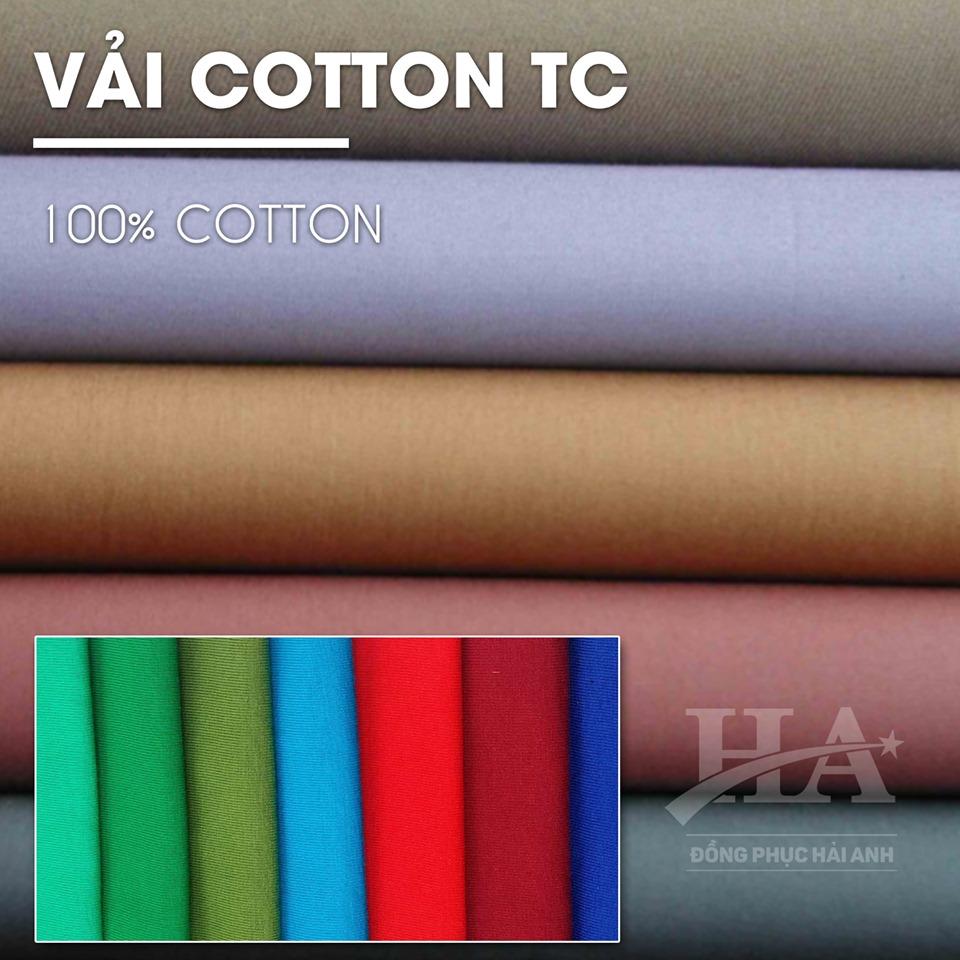Vải may áo thun 100% cotton