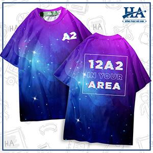 mẫu áo lớp 3d galaxy a14