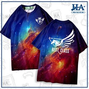 mẫu áo lớp 3d galaxy a15