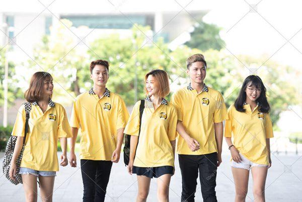 Áo lớp caro màu vàng cúc A3