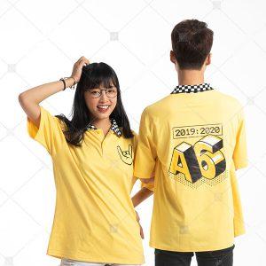 Áo lớp caro màu vàng cúc A6