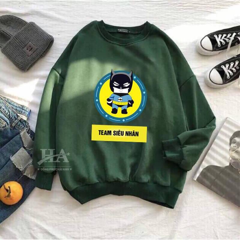 Mẫu áo lớp sweater đẹp 02
