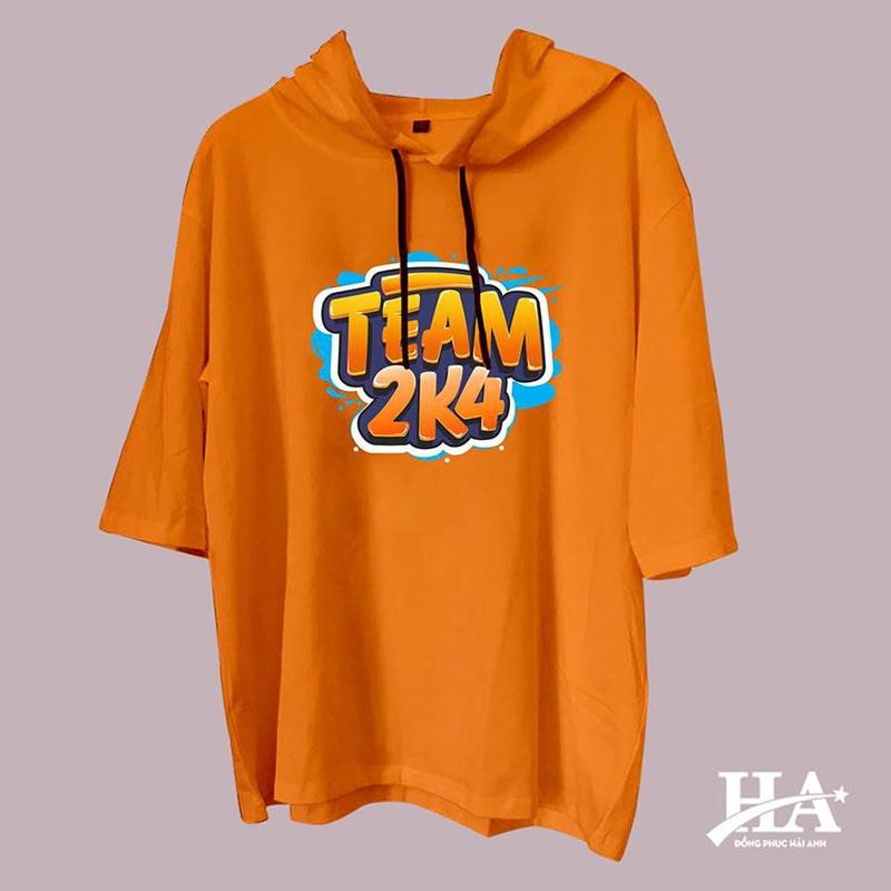 Mẫu áo lớp T-dee màu cam