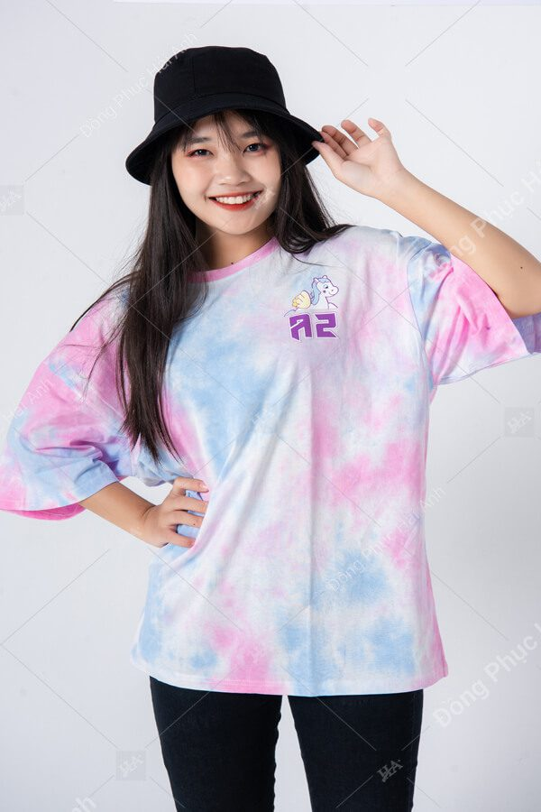 Mẫu áo lớp tie dye đẹp 01