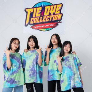 Mẫu áo lớp tie dye đẹp 12
