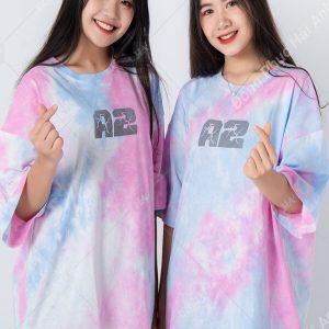 Mẫu áo lớp tie dye đẹp 02