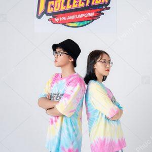 Mẫu áo lớp tie dye đẹp 04