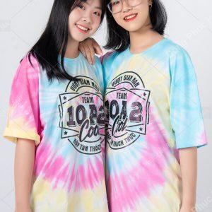 Mẫu áo lớp tie dye đẹp 05