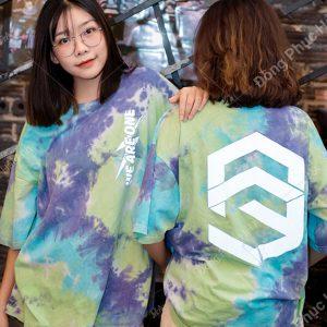 Mẫu áo lớp tie dye đẹp 09