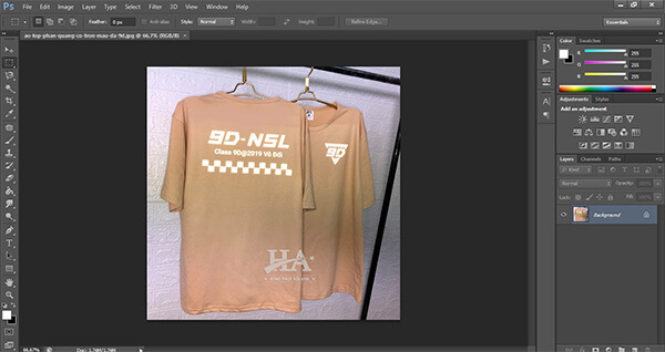 Làm logo áo lớp online bằng phần mềm photoshop