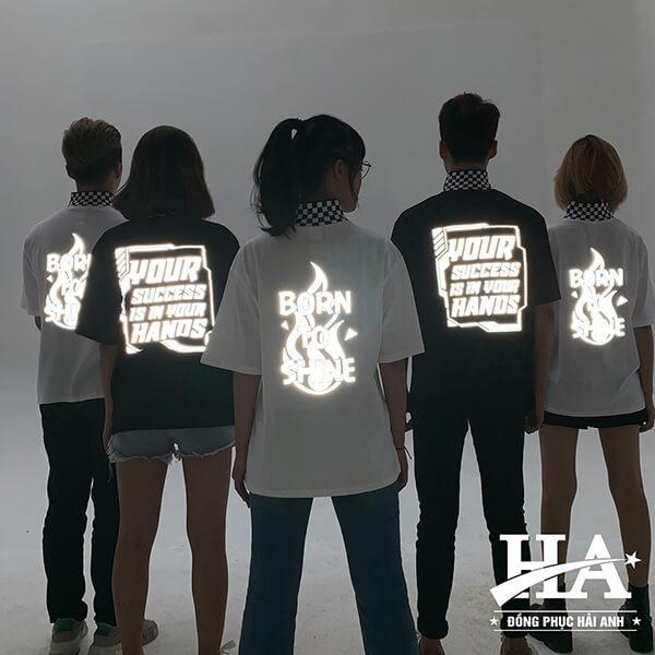 Hình ảnh khi thiết kế logo áo lớp cần to, rõ ràng và dễ hiểu