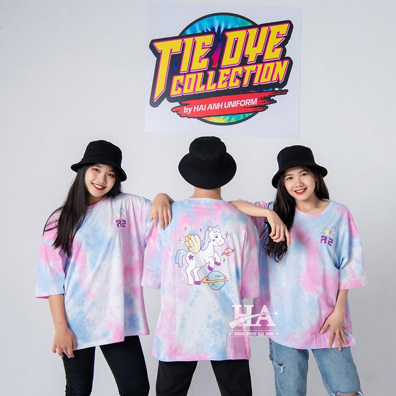 Mẫu áo lớp tie dye 04