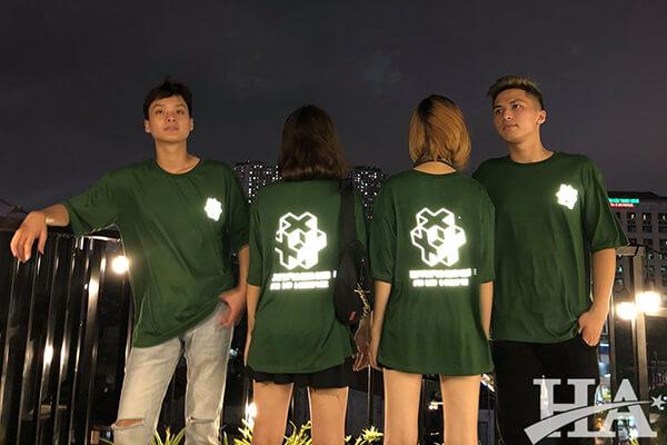 Những mẫu áo thun lớp đẹp nhất màu xanh lá cây tươi mới, đầy ấn tượng