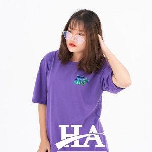 Mẫu áo lớpHologrammàu tím Violet A3K78