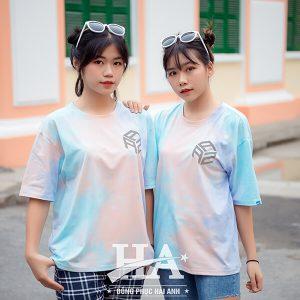 mẫu áo lớp tie dye 13