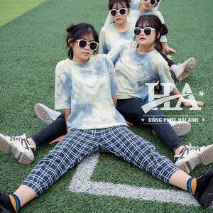 mẫu áo lớp Tie dye 15