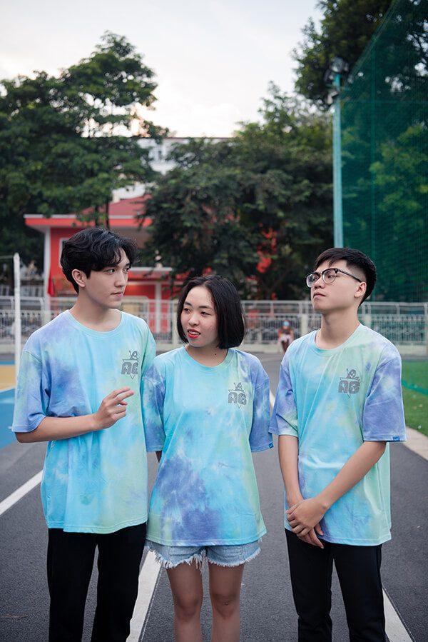 mẫu áo lớp Tie dye 17