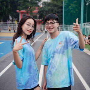 mẫu áo lớp Tie dye 18