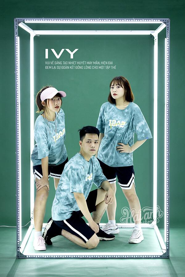 Mẫu áo lớp Patchy Ivy