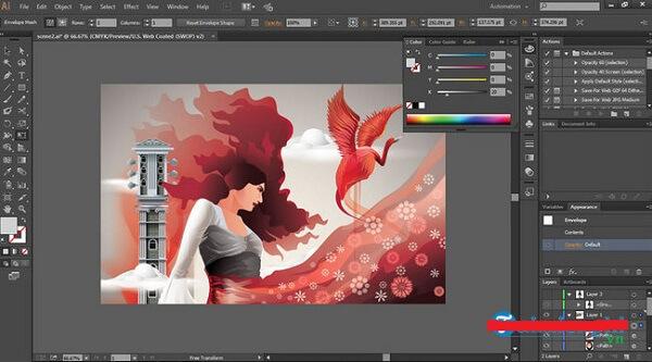Download phần mềm thiết kế áo lớp Adobe Illustrator - anh em một nhà với Adobe Photoshop