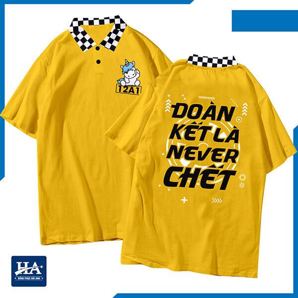 """Hình logo áo lớp với những câu slogan bá đạo, """"đặc sản"""" của tuổi học trò"""