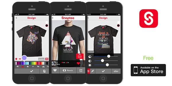 Ứng dụng thiết kế áo lớp Snaptee có nhiều chính sách có lợi cho người dùng