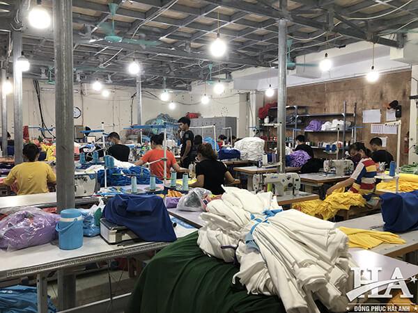 Hải Anh Uniform là địa chỉ làm áo lớp giá rẻ tại An Giang đầu tiên ứng dụng quy trình sản xuất khép kín mọi công đoạn sản xuất.
