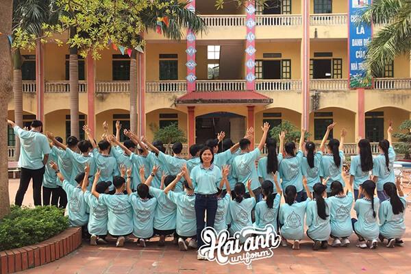 Hải Anh Uniform – Địa chỉ làm áo đồng phục lớp đẹp giá rẻ tại Quảng Ninh được nhiều khách hàng tin tưởng lựa chọn.