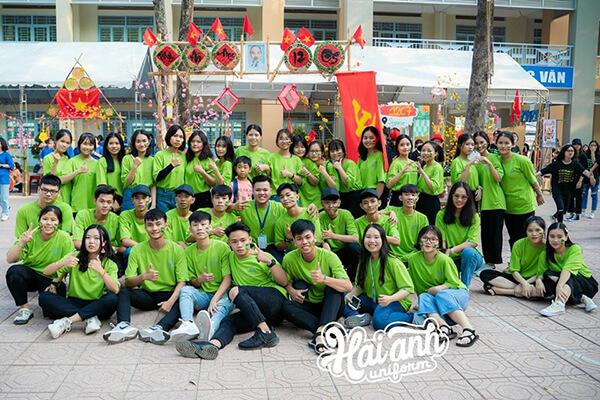 Nhu cầu làm áo đồng phục lớp tại Kiên Giang ngày càng cao