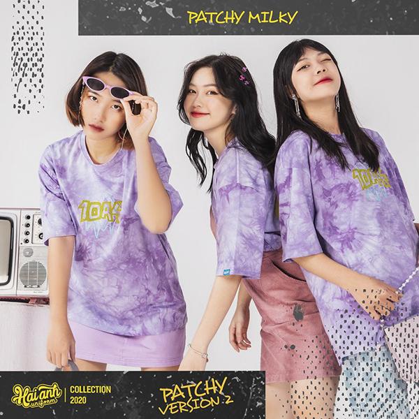 Mẫu áo lớp Patchy Milky