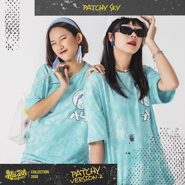 Mẫu áo lớp Patchy Sky